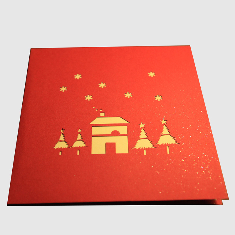 Aliexpress buy wholesale 10pcs paper sculpture christmas aliexpress buy wholesale 10pcs paper sculpture christmas decoration supplies 3d greeting cards decorative crafts new year invitation card from m4hsunfo