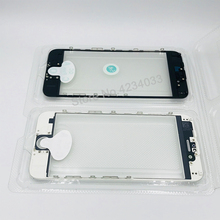 1pcs/lot AAA+ Cold Press Replacement LCD Front Touch Screen Glass Outer Lens with frame OCA film for iphone 6 6s plus 5s 5g 5c touch screen for ab panelview plus 1000 2711p t10c4a6 2711p t10c4a7 2711p t10c10d6 2711p t10c10d2 with overlay film