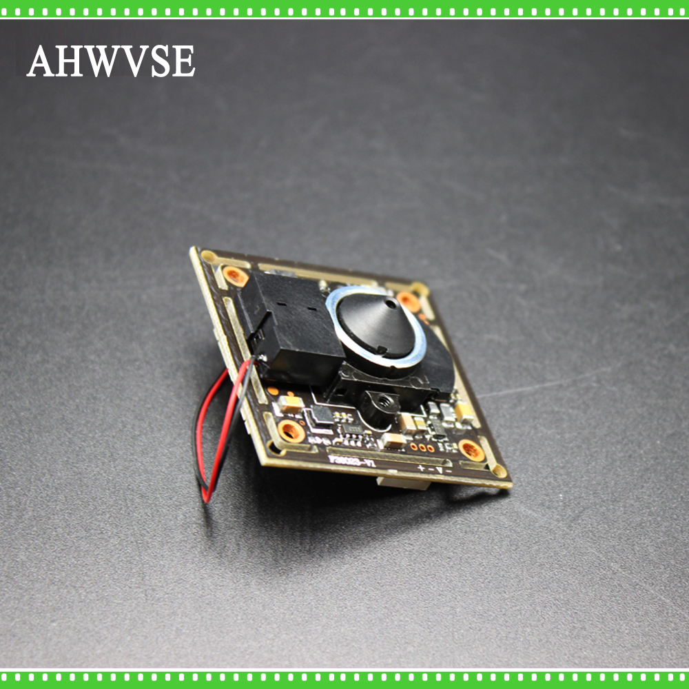 AHWVSE HD 1200TVL CCTV 3.7mm Lens Analog Camera module board with IR-CUT and BNC cable 2.8mm lens