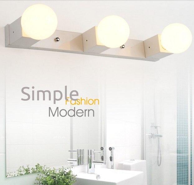 Simple Modern Wall Sconce Fashion Mirror LED Wall Light For Home Indoor Lighting Bathroom Lamp Lampe Murale стоимость