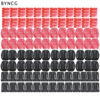 BYNCG for GoPro Accessories Set 104 Pcs Flat Curved Base Adhesive Mount 3M Stickers Go Pro Hero 6 5 324 Session Xiaoyi 4K SJ4000