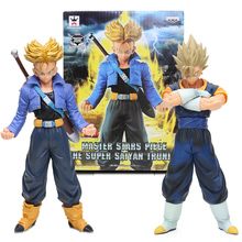 20cm 25cm mistrz gwiazda kawałek Vegetto pnie pcv figurka Dragon Ball Z figurki zabawki Super Saiya MSP Colletible lalki