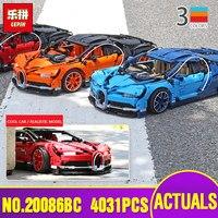 DHL 42083 Буле orange красный гоночный автомобиль комплект техника серии игрушка строительные блоки кирпичи Legoinglys Дети Рождественские подарки
