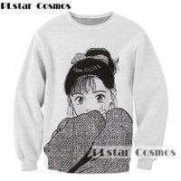 Classic Anime Sweatshirt Fashion Men Women Long Sleeve Outerwear Streetwear Hipster Tops Cartoon 3d Print Crewneck