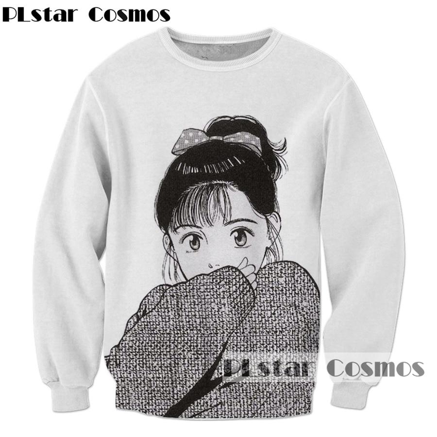 Classic anime Sweatshirt fashion Men Women Long sleeve Outerwear Streetwear Hipster tops Cartoon 3d Print Crewneck Sweatshirt