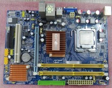 Original G41C supports DDR2 775 pin integrated main G41 board
