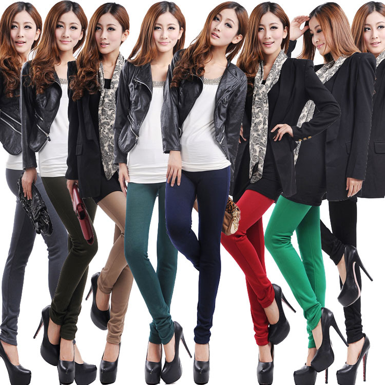 2014 Winter fashion denim legging velvet thickening lining women s warm  legings jeans pants trousers-in Leggings from Women s Clothing on  Aliexpress.com ... 0c684b9acabf