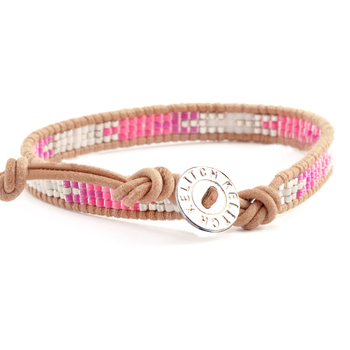 Bracelet Perle Tissé