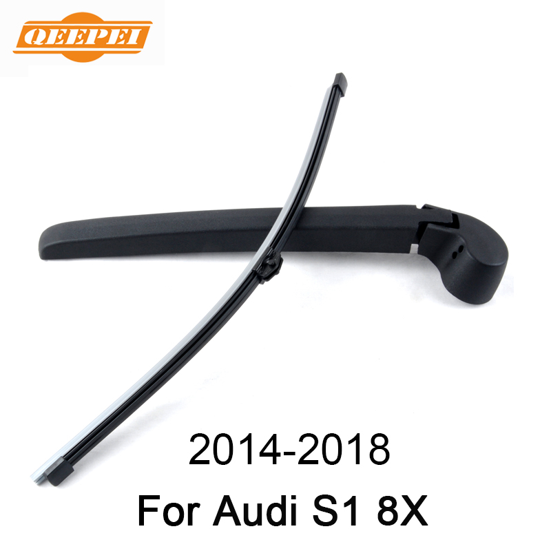 Diligent Qeepei 14 Rear Wiper Arm And Blade For Audi S1 8x 2014-2018 High Quality Natural Rubber Auto Car Accessories Automobiles & Motorcycles Glasses & Windows