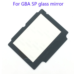 2PCS Glass Replacement LCD Display Screen Lens Protection Panel Cover Repair part for Nintendo GBA SP W/ Adhesive Tape(China)