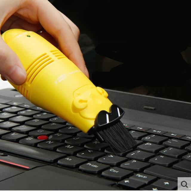 Free Shipping Small Office Supplies Pocket Usb Keyboard Vacuum