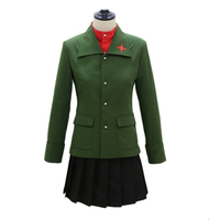 Anime Girls and Panzer katyusha School Uniforms Cosplay Costume