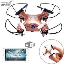 Мини Drone с Камера Wi-Fi HD FPV Quadcopter мини-Дрон для детей летающих Радиоуправляемый Дрон светодиод мигает гонки Дрон для подарка дви X3