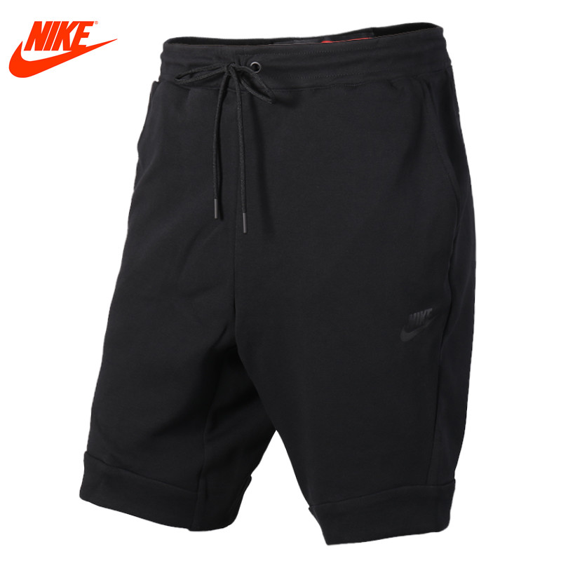 Original Nike men's summer sports loose knit shorts Black and Grey pants authentic nike men s summer training running sports pants fast dry shorts