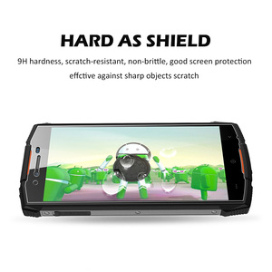 Image 5 - JONSNOW Tempered Glass For Doogee S55 Screen Protector 9H Explosion proof Protective Film  for Doogee S55 Lite 5.5 inch
