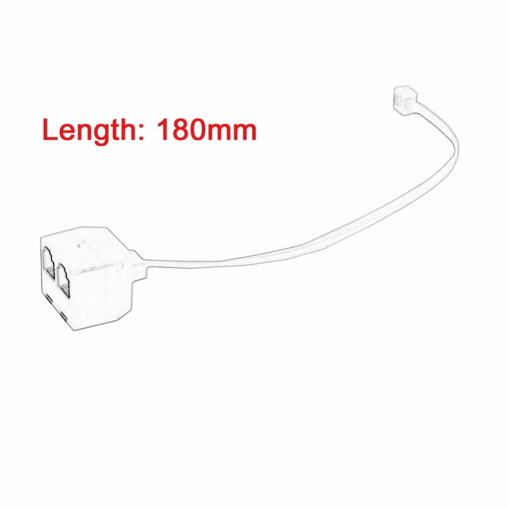 RJ11 6P4C Male to 6P4C Female 2 Way Telephone Jack Plug Splitter Phone  Telephone Line Connector Adapter Converter-in Telephone Cords from Computer  & Office ...