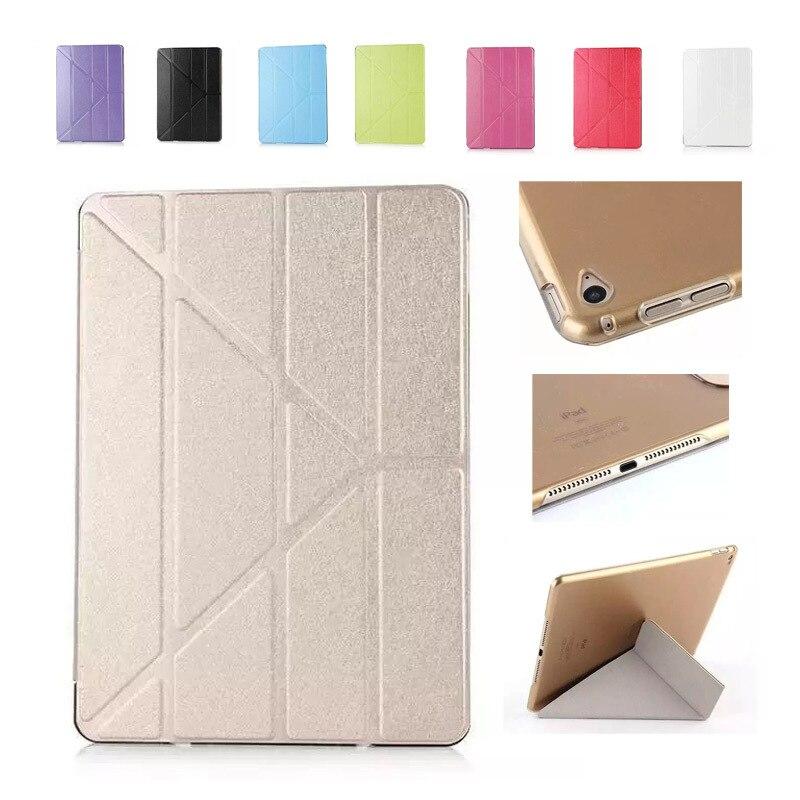 Для ipad mini 1 2 3 чехол несколько раз деформации кожи Пластик Защитный флип чехол для ipad mini 1 2 3 Чехол