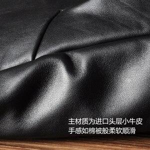 Image 4 - AETOO A primeira camada de couro mochila masculino mochila mochila de couro do vintage marca de moda de lazer saco de viagem de couro grande
