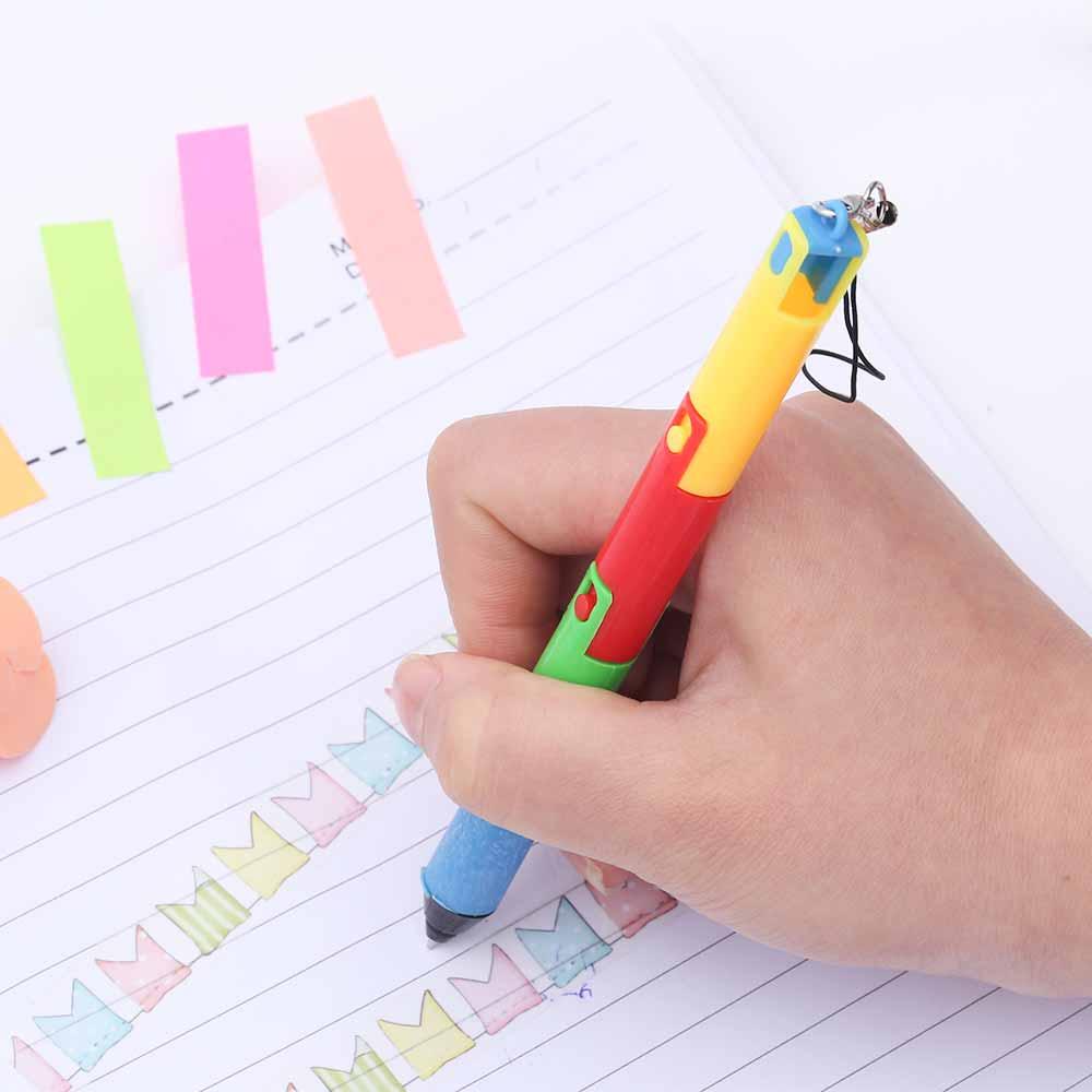 TOMTOSH Foldable Ballpoint Pen Stitch Pen Wholesale Bend Pen Creative Student Prize Item Pen 8