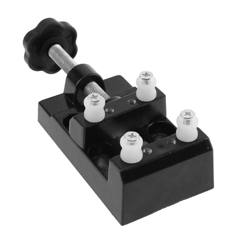 Professional Aluminum Miniature Bench Table Vise Olive Nut Walnut Carving Tool Vise Small Jeweler Clamp Mayitr Bench Vise