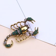 scorpion insect brooch enamel pin metal lapel pin men jewelry gifts brooches for women rhinestone broches frogs brooches for women accessories green enamel pin metal animal enamel rhinestone brooch cute kids pin fashion karl jewelry