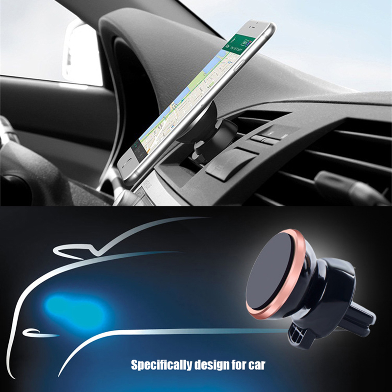 Magnetic car phone holder air vent 9