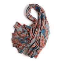 100%wool knit women fashion printed elegant scarfs shawl pashmina small tassel 95x210cm large size