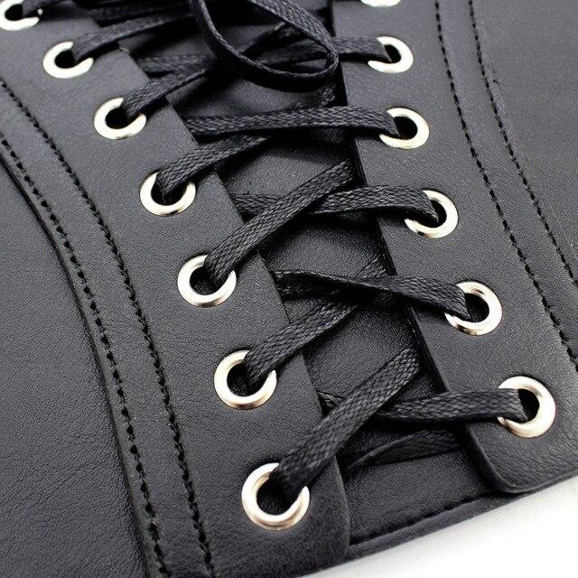 whole colored Belt Corset Lace up Wide Belts for Women Black Cummerbund for Evening Dress Fashion Clothes Accessory 4