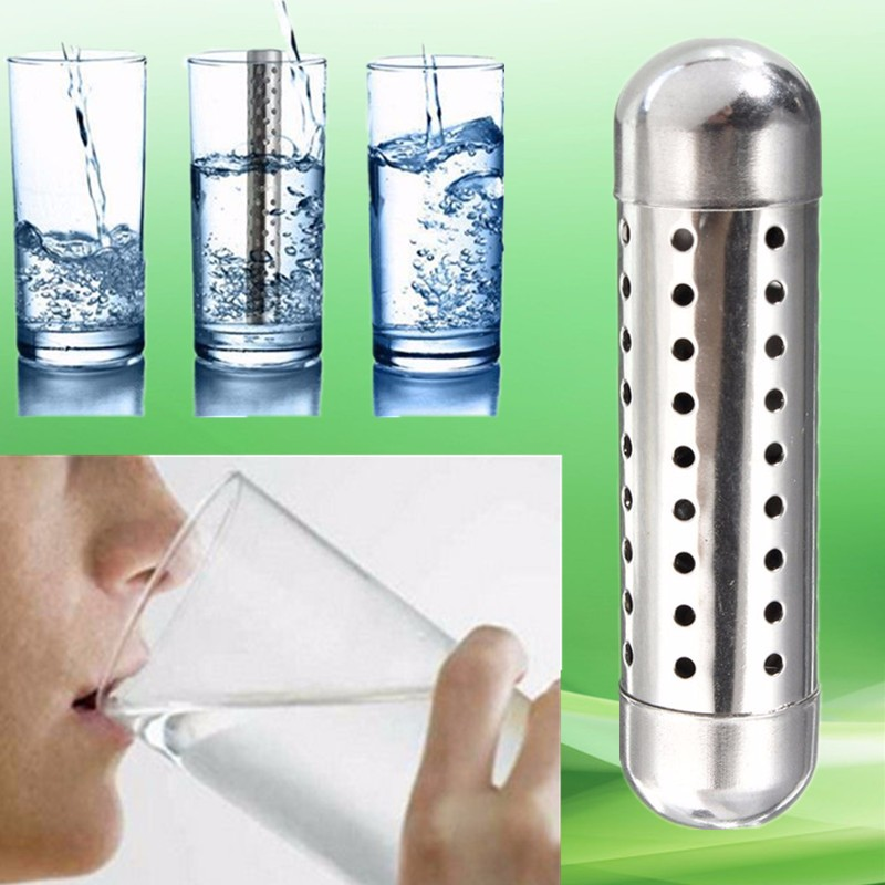 New Arrival Water Purifier Ionizer Stick Raise PH Neg Charged Structured Water Alkaline Water Purifier Alkaline Water Sticks