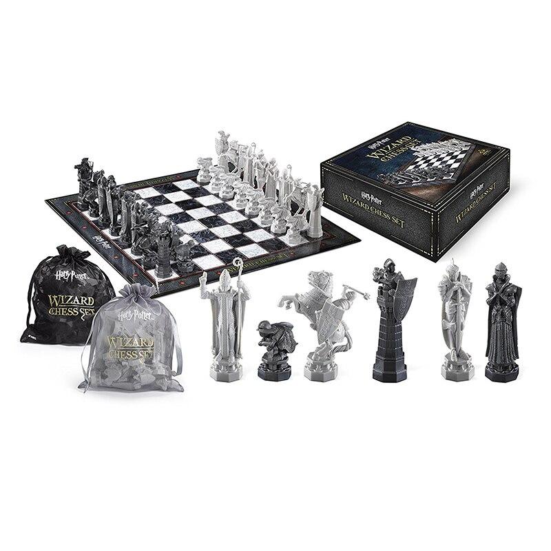 Jeu d'échecs Harry Potter assistant jeu d'échecs soldat modèle sacs en boîte édition