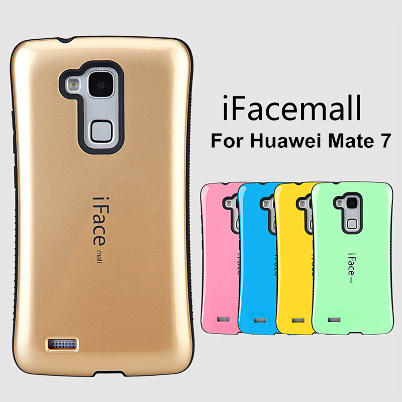 Luxury Mobile Phone Case for Huawei Ascend Mate 7  Mate 8 Fashion Shockproof Cover for Huawei Mate 7 Soft TPU Plastic Hybrid Armor Cases