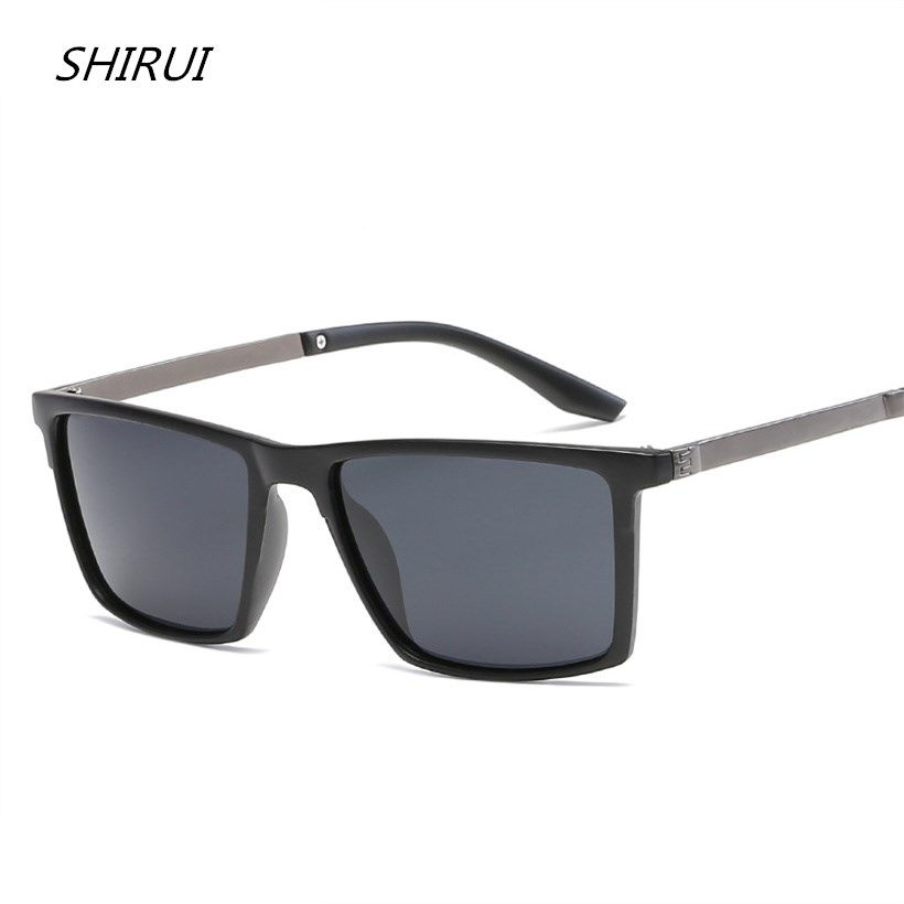 Polarized Sunglasses Men Vintage Alloy Sun glasses Male Driving Safety Protect Eyeglasses HD Goggles rayed Top Quality UV400 Hot ...