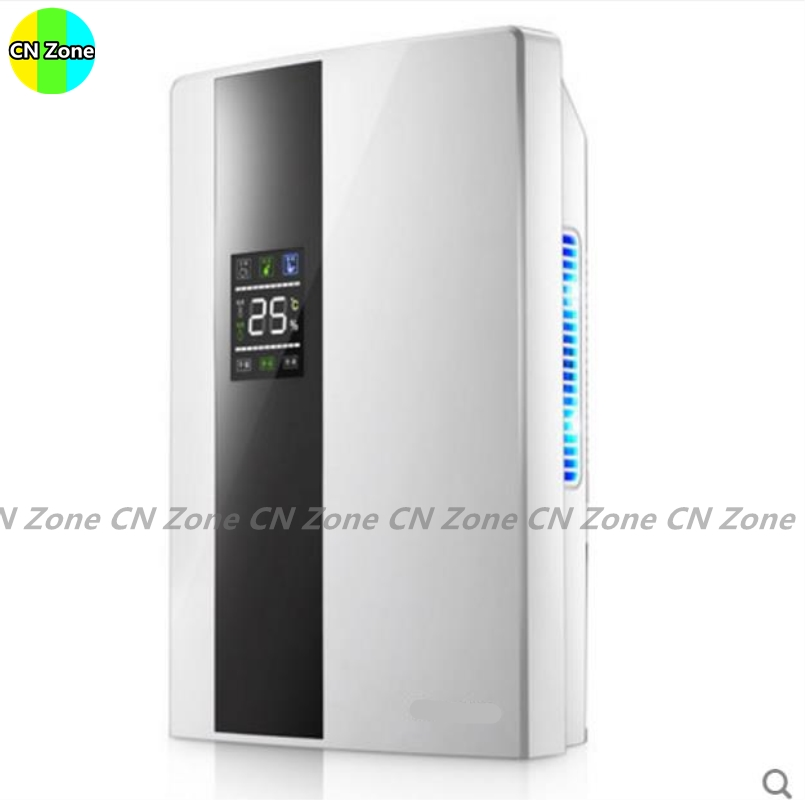 Free shipping electric intelligent dehumidifiers Continuous drainage purify air dryer machine moisture absorb Smart Home Applian salter air fryer home high capacity multifunction no smoke chicken wings fries machine intelligent electric fryer