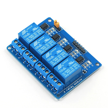 1PCS 4 Channel Relay Module 5V 4Channel Relay Output 4-Channel 4 way Relay Module Shield for Arduino