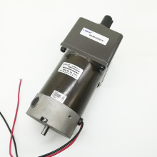 High Quality Linix DC 24V 80W Gear Motor 85ZY24-80-B/90JB120G1538-BM 15mm  Double out Shaft Permanent Magnet Reduction DC Motor