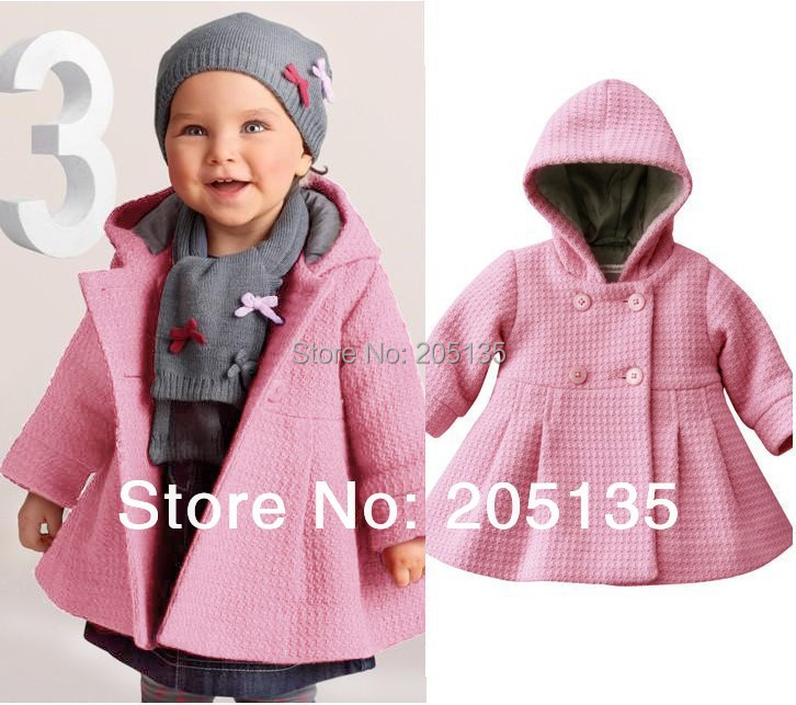 2016 Fashion Spring Autumn Baby Warm Coat Toddler Kids -6345