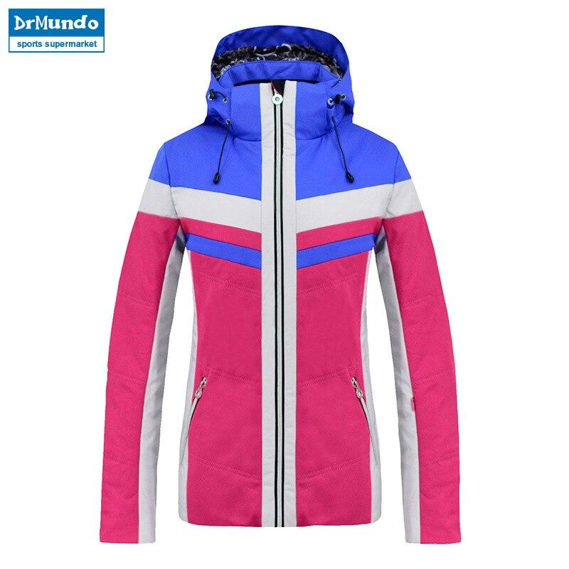 2018 New Women ski Jackets brand Outdoor Warm Snowboard Jacket Coat Female Waterproof Snow Jacket Sportswear