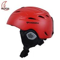 MOON Newest Style Ski Helmet Ultralight Integrally Molded Professional Skiing Sports Snow Safety Good Quality Helmet