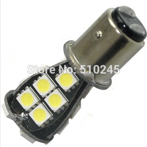 30x 12V 1157 BAY15D P21/5W 21 SMD 5050 CANBUS OBC No Error Signal Car 21 LED lamp Light Bulb free shipping