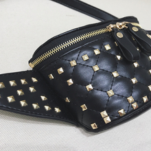 Fashion rivet female Waist Packs (2 colors)