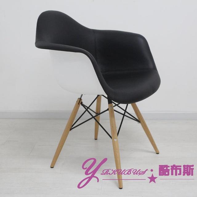 cool booth daw chair eames chair arm chair soft pack classic design