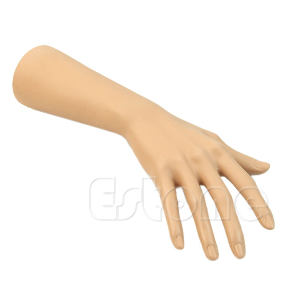 High Quality Silicon Female Hands Mannequin Nail Art Fake Model ...