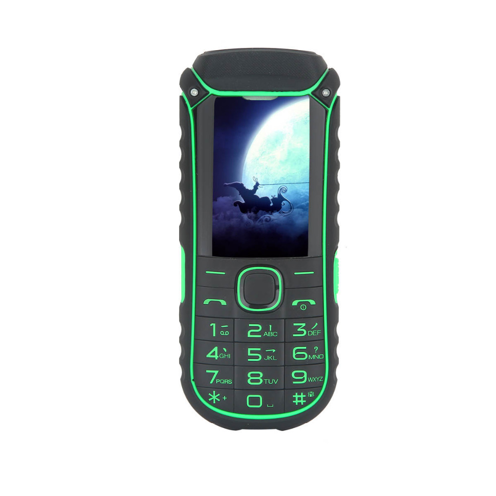 Uhappy A5000 4400mAh Power Bank Mobile Phone Dual SIM Card Flashlight Shockproof Dustproof Rugged Phone