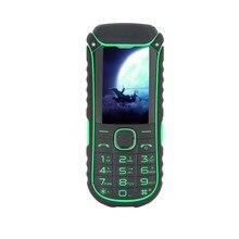 Uhappy A5000 + 4400 mAh Puissance Banque Mobile Téléphone Double SIM Carte lampe de Poche Antichoc Antipoussière Robuste Téléphone