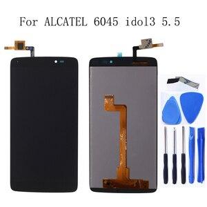 """Image 1 - Pour Alcatel 5.5 """"One Touch idole 3 5.5 6045 OT 6045 6045K 6045Y LCD convertisseur numérique composant écran réparation accessoires + outils"""