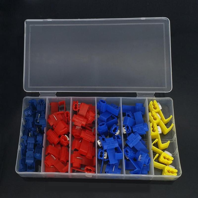 65pcs Electrical Cable Connector Wire Fast Quick Splice Lock