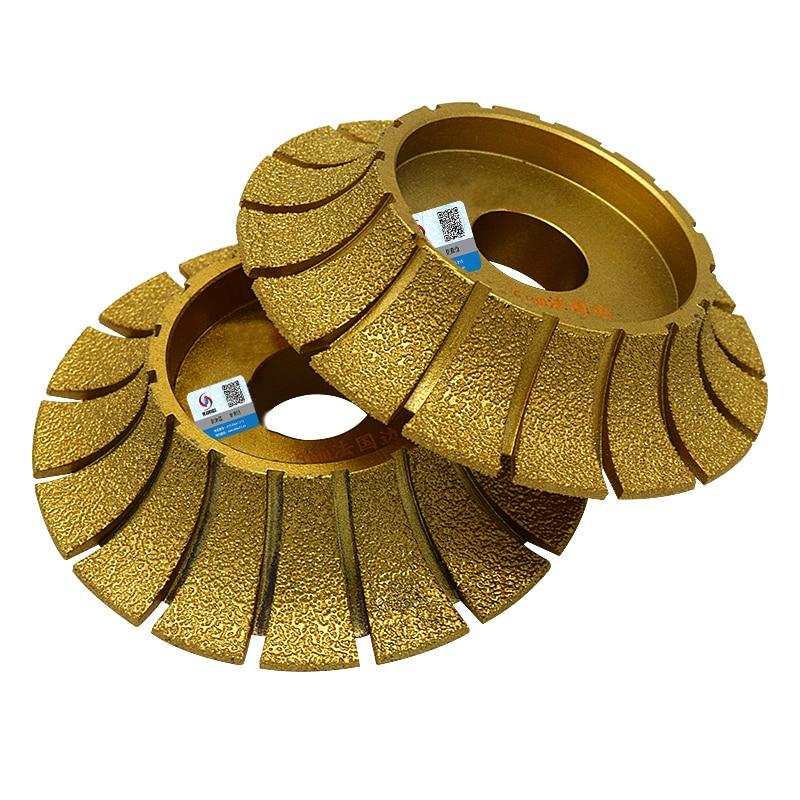 RIJILEI Mole diamantate per brasatura 140mm * 30mm per smerigliatrici - Utensili elettrici - Fotografia 4