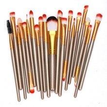 20 pcs Makeup Brush Set Make Up foundation powder lipstick eyeshadow eyebrow Brush Set  makeup brushes professional 2016 beauty