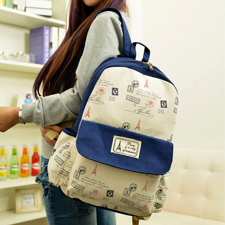 Aliexpress.com : Buy Korean fashionable casual canvas school ...