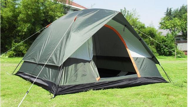 Outdoor rain proof c&ing tent 4 double super waterproof glue c&ing tents So hot tent & Outdoor rain proof camping tent 4 double super waterproof glue ...